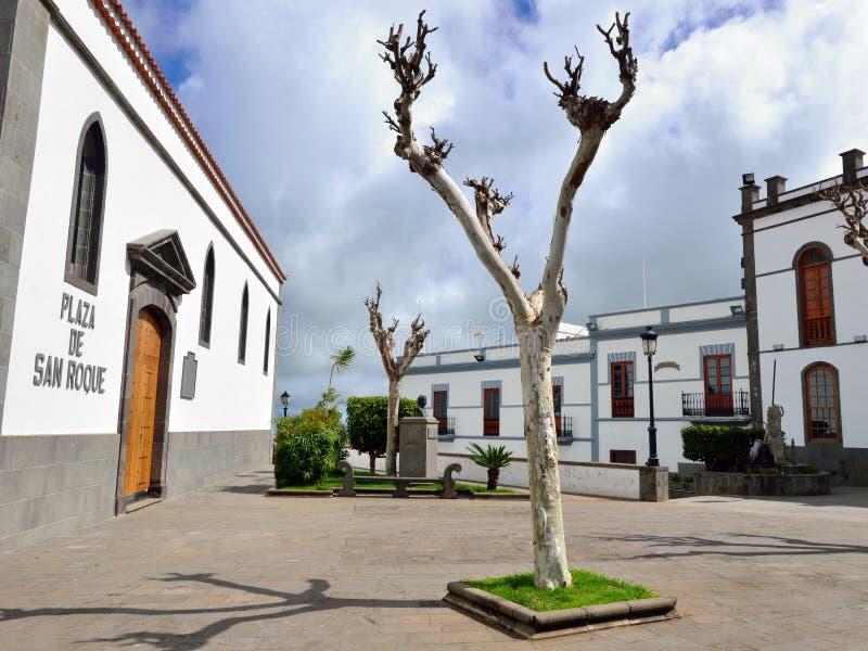 Firgas, Gran Canaria stock afbeelding
