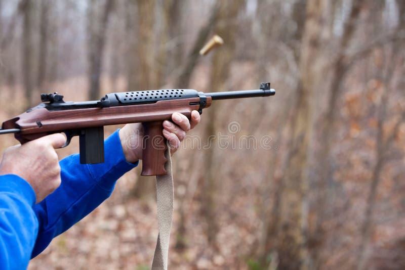 Download Firing an Assault Weapon stock photo. Image of hunt, assault - 11956358