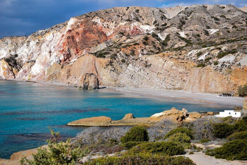 Download Firiplaka-Strand stockbild. Bild von strand, griechisch - 90230667