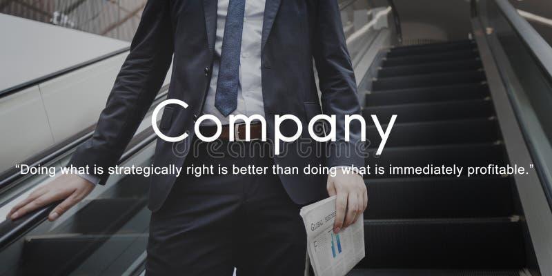 Firma Biznesowego współpracy Korporacyjny Drużynowy pojęcie obraz stock