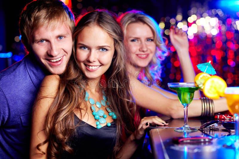 Download Firma clubbers obraz stock. Obraz złożonej z chłopak - 28950563
