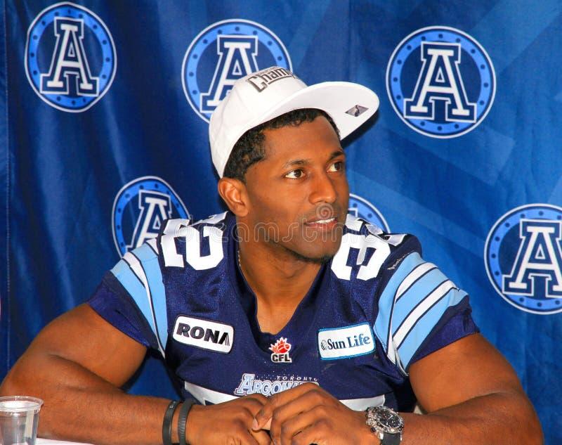 Firma degli autografi dei Argonauts di Toronto immagini stock