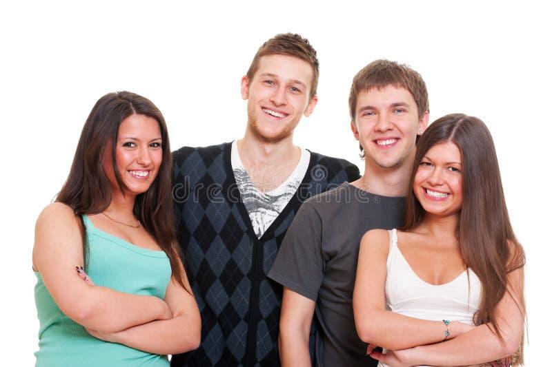 Firma der jungen Leute lizenzfreie stockfotografie