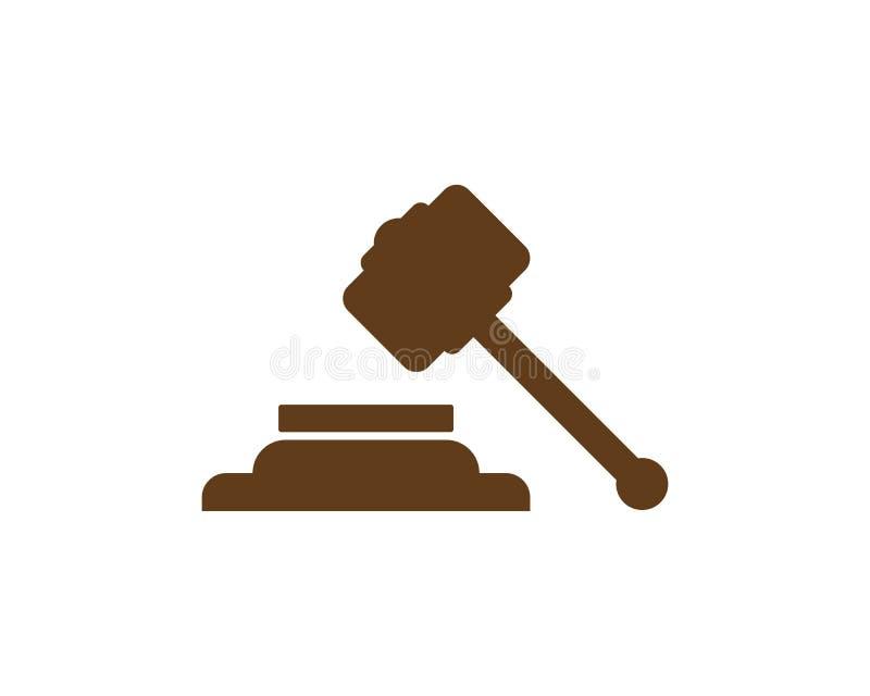 Firma Prawnicza loga projekta szablon royalty ilustracja