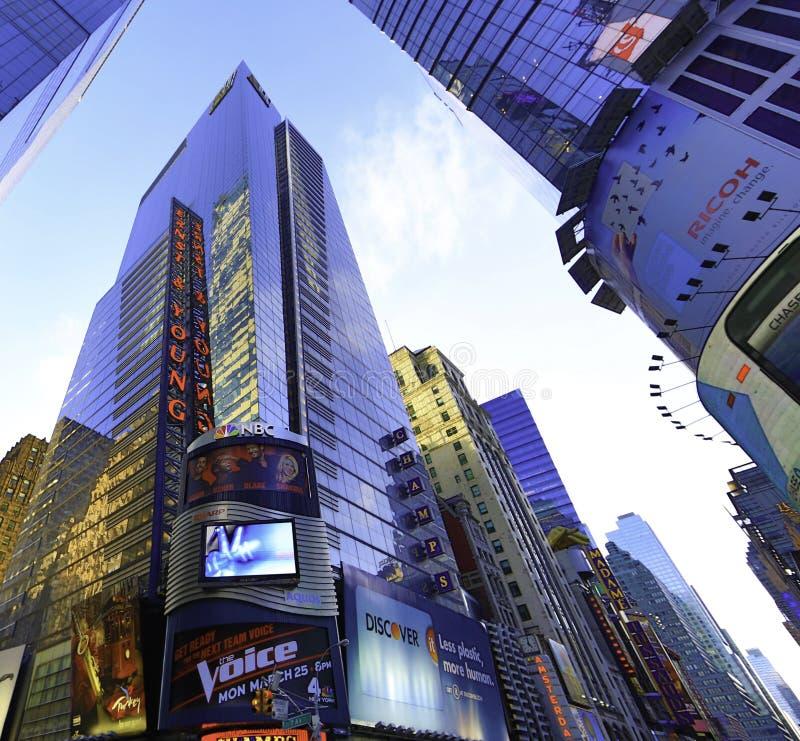 Firma van de Boekhouding van New York Manhattan de Grote royalty-vrije stock afbeelding