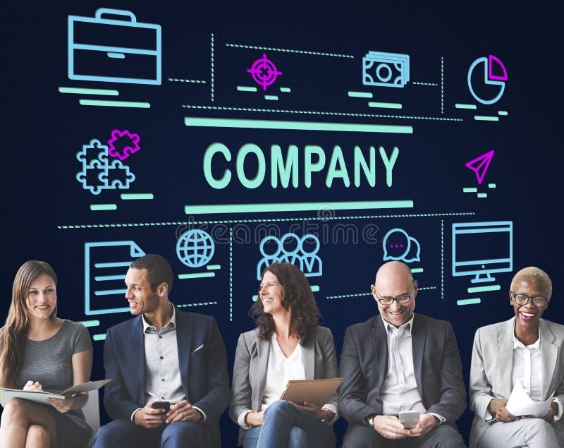 Firma współpracy pomysłów pracy zespołowej Biznesowy pojęcie obraz stock