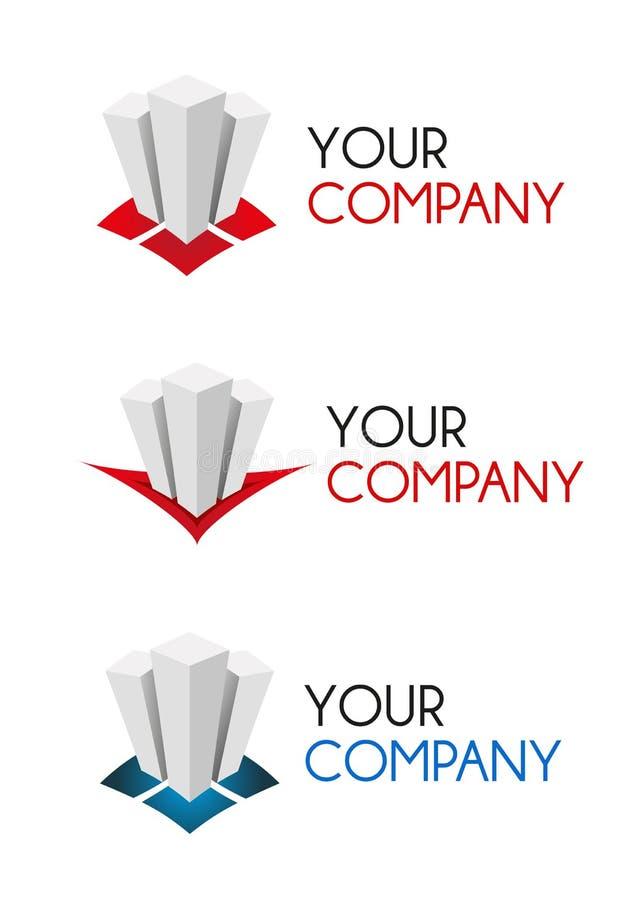 Firma-Zeichen stock abbildung
