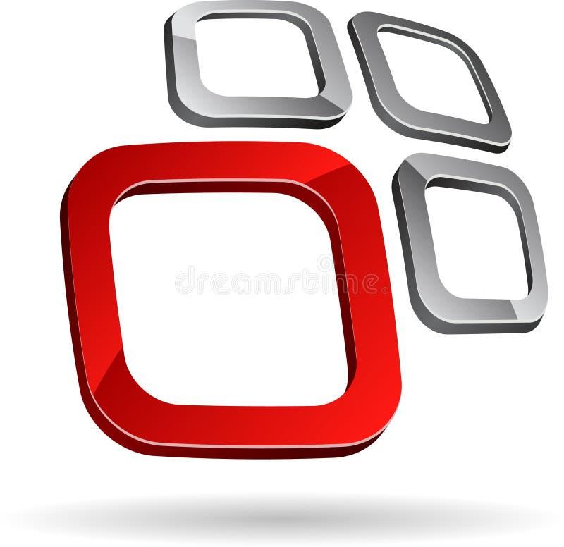 Firmasymbol. vektor abbildung
