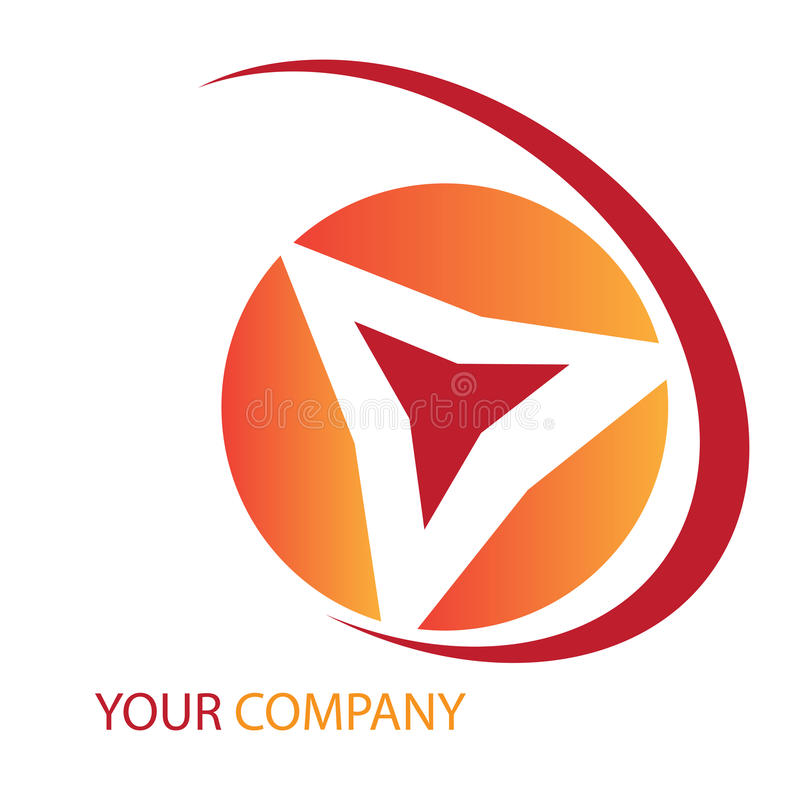 Firmazeichen stock abbildung