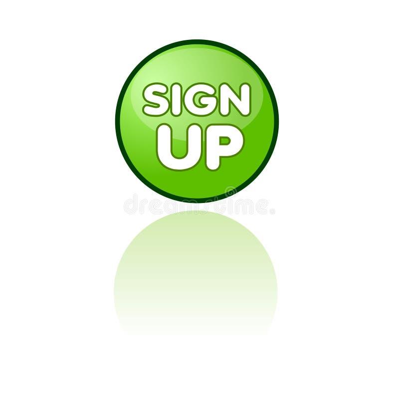 Firme para arriba el botón del Web