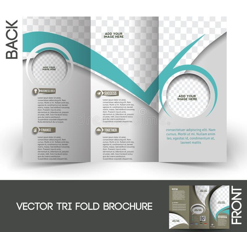 Firmenkundengeschäft-dreifachgefaltete Broschüre