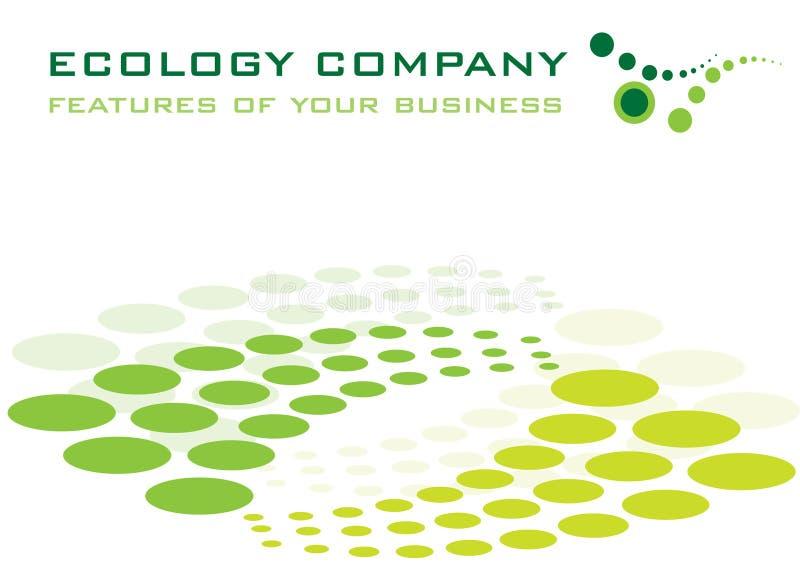 firmy ekologia royalty ilustracja