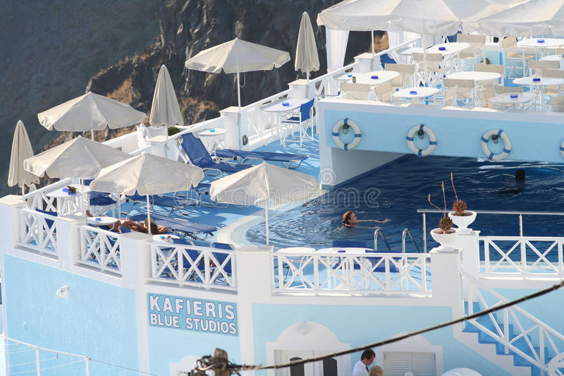Download Firostefani Hotel, Santorini Editorial Photo - Image: 34305961