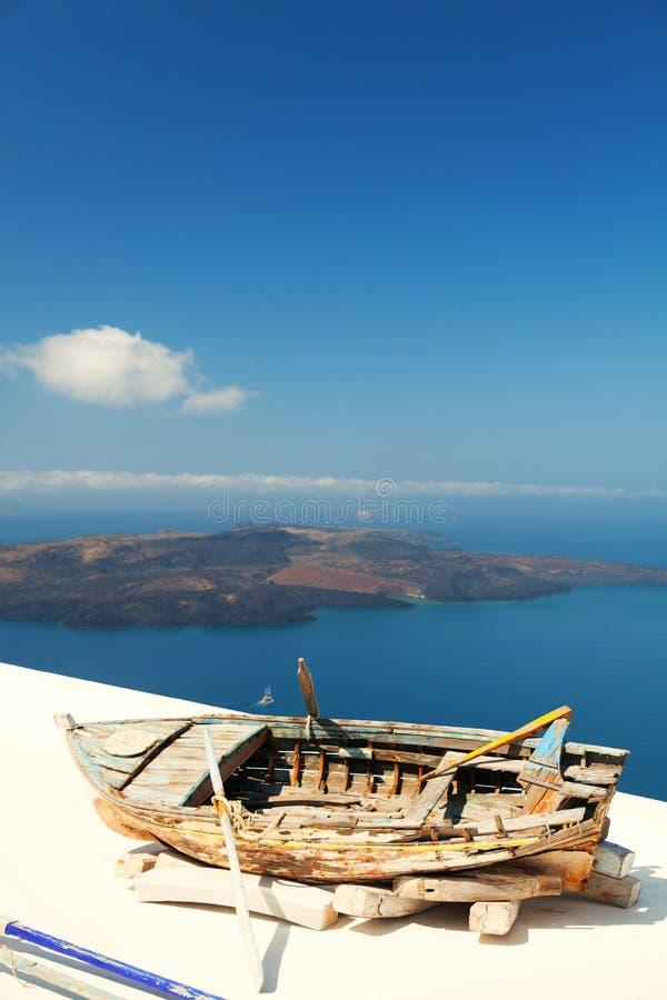 Firostefani, Santorini fotografia royalty free