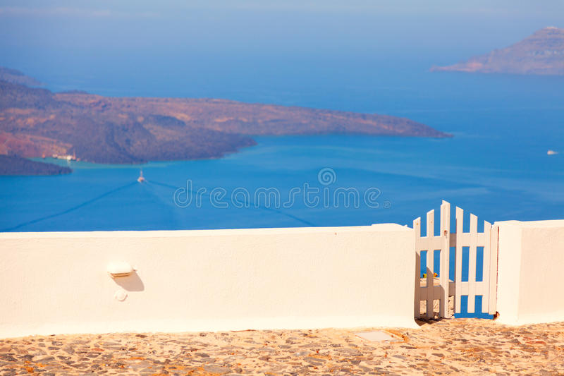 Firostefani, Santorini zdjęcia royalty free
