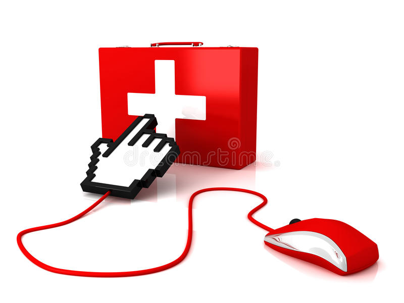 First Aid Editorial Stock Photo