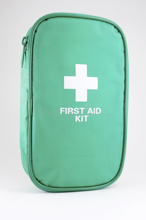First aid kit #1 stock photography