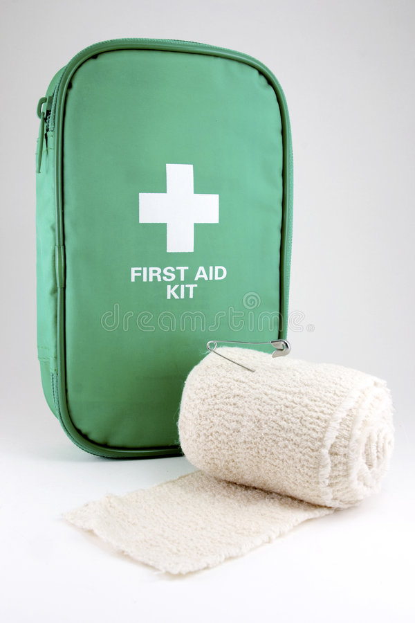 First aid kit #2 royalty free stock image