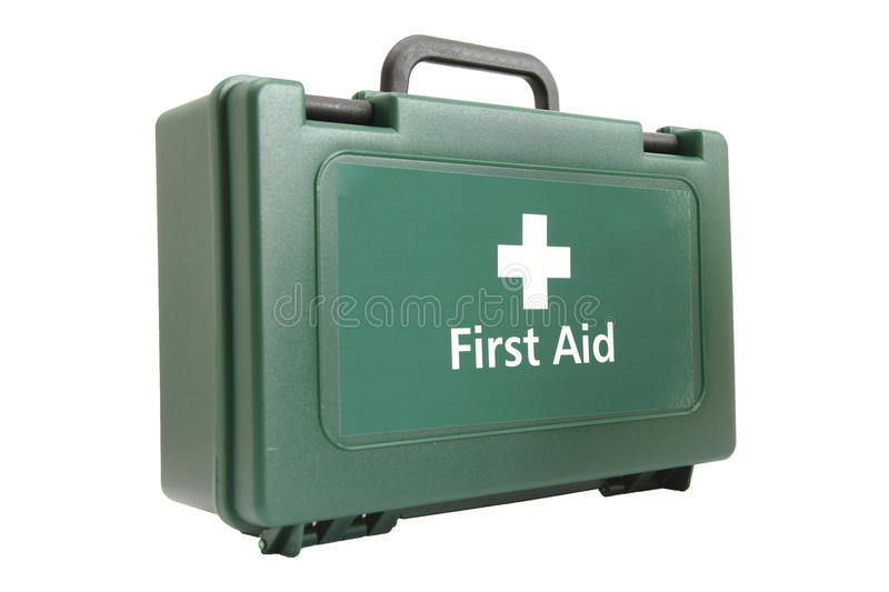 Download First aid kit stock photo. Image of green, background - 21825034