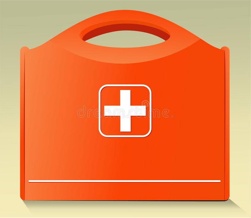 Download First Aid Kit stock vector. Image of medicine, help, bandage - 29670143