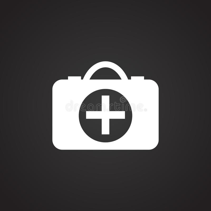 First Aid Kit Black Background Stock Illustrations – 502 First Aid