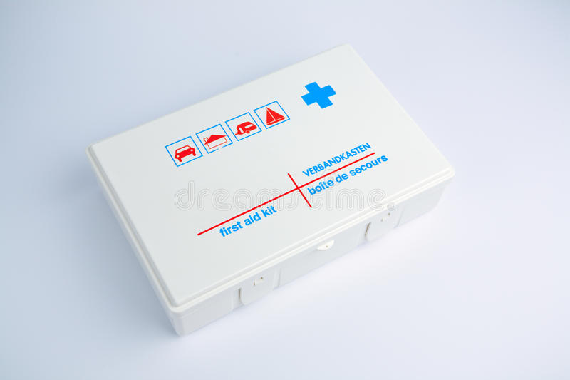 Download First Aid Kit For A Car Or Camping Stock Photo - Image: 20990768