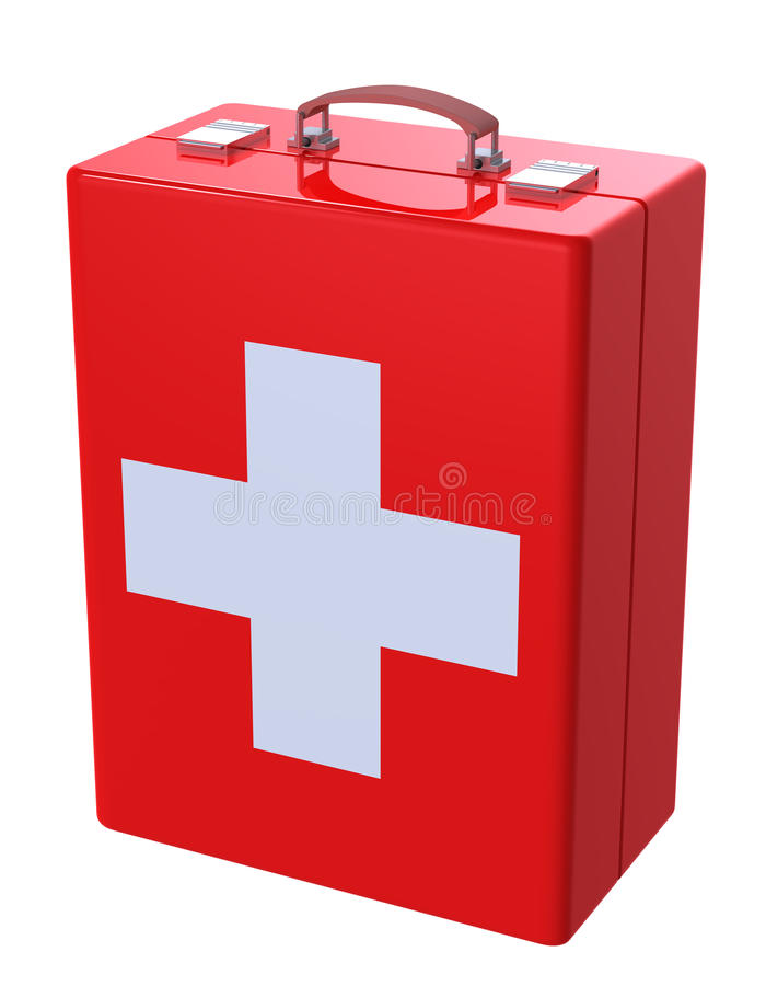 Download First aid kit case stock illustration. Illustration of copy - 9612384
