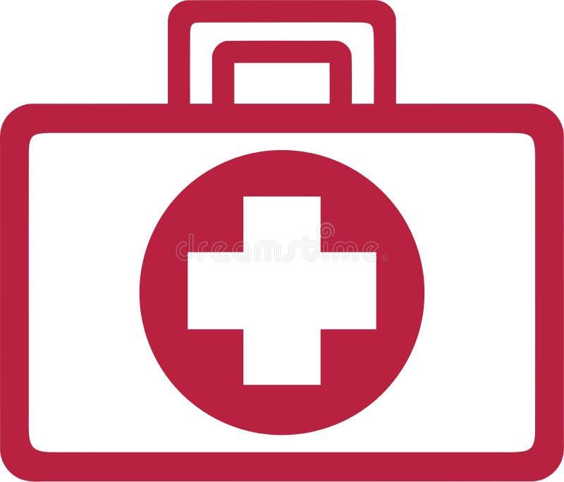 First Aid Kit vector illustration