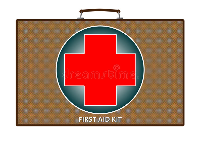 Download First aid kit illustration stock illustration. Image of care - 7942276