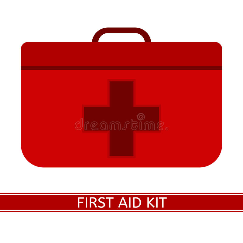 First Aid Kit stock illustration