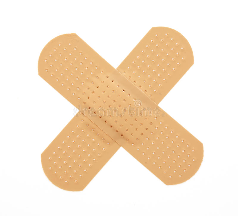 First-aid plaster royalty free stock photos