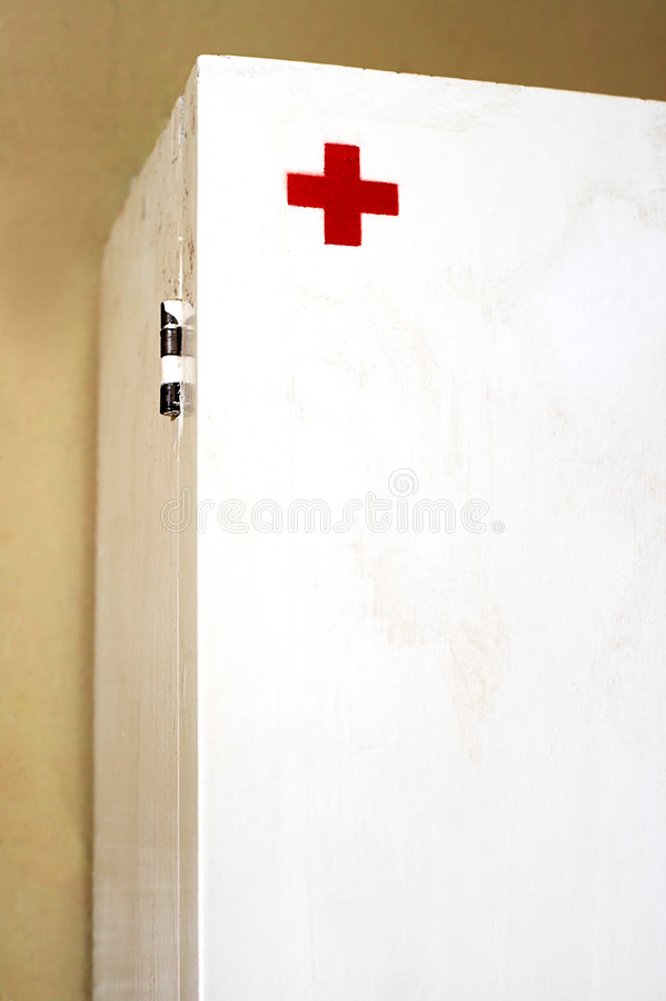 The First-aid Set Royalty Free Stock Images