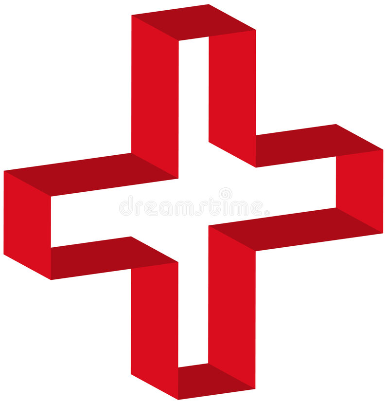Download First aid symbol stock vector. Image of medicine, symbol - 4664434