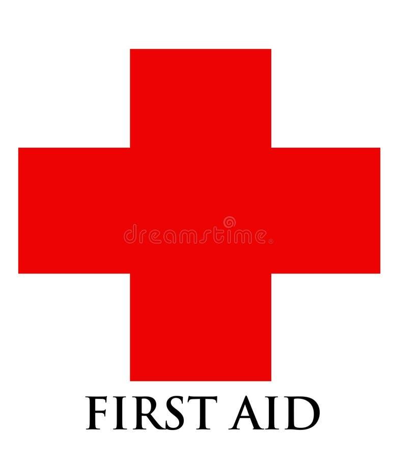 First Aid Symbol royalty free illustration