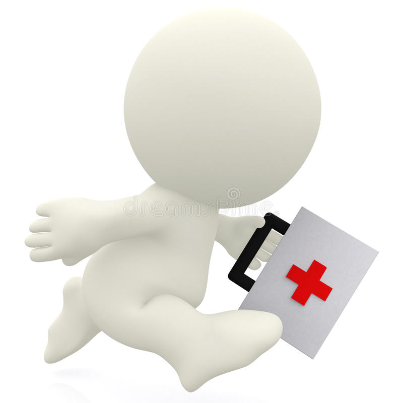 Download First aid on the way stock illustration. Illustration of render - 14938244