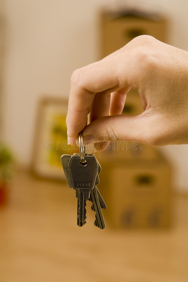 The First Appartment Stock Photo