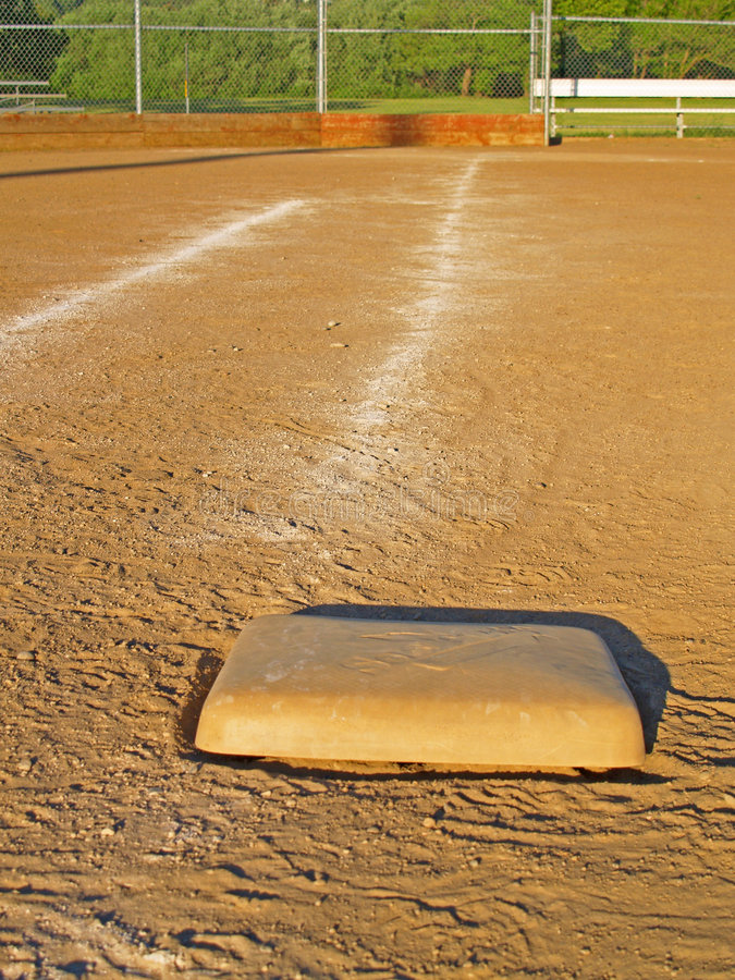 First Base stock image