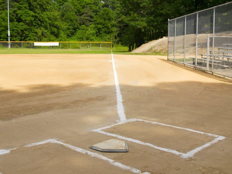 Download First base line stock image. Image of sandlot, empty, summer - 2651391