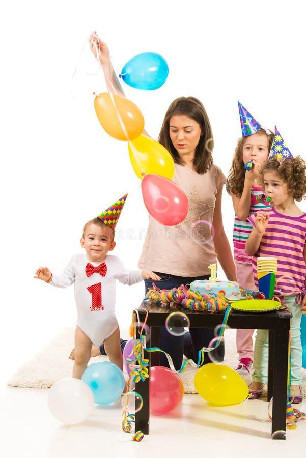 First birthday stock photo