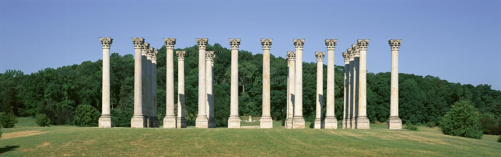 Download The first Capitol Columns stock photo. Image of column - 26893952