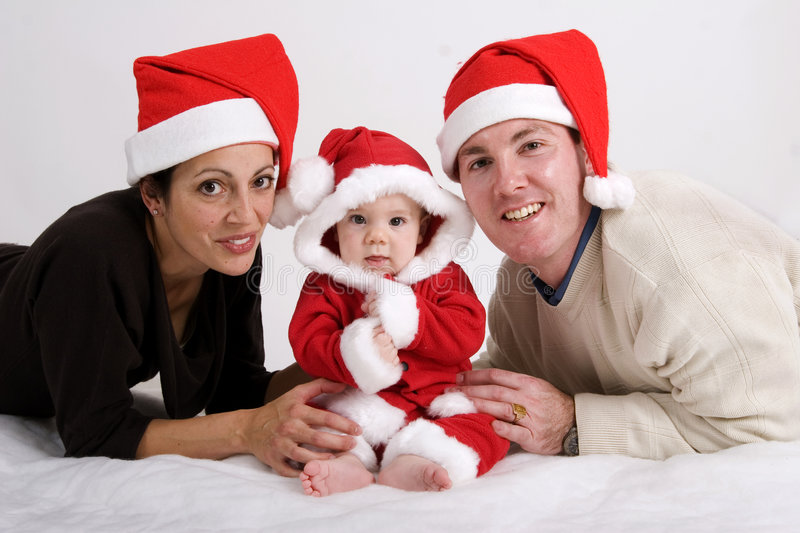 Download First Christmas stock photo. Image of noel, santa, claus - 1401274
