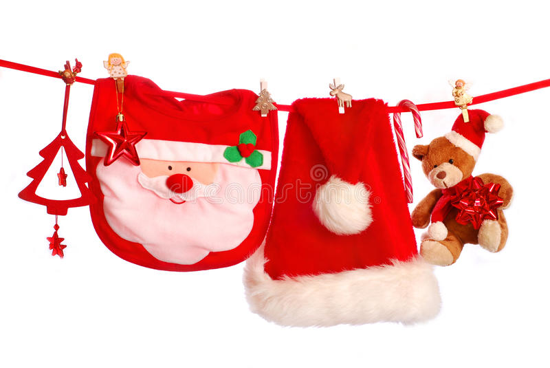 Download First christmas stock image. Image of bear, accessories - 17061625