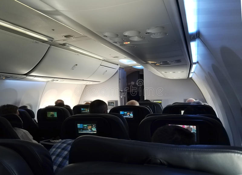 First class cabin royalty free stock images