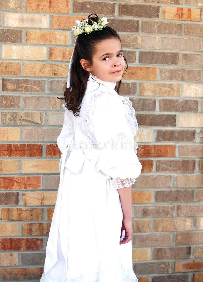 First Communion 1 Royalty Free Stock Images