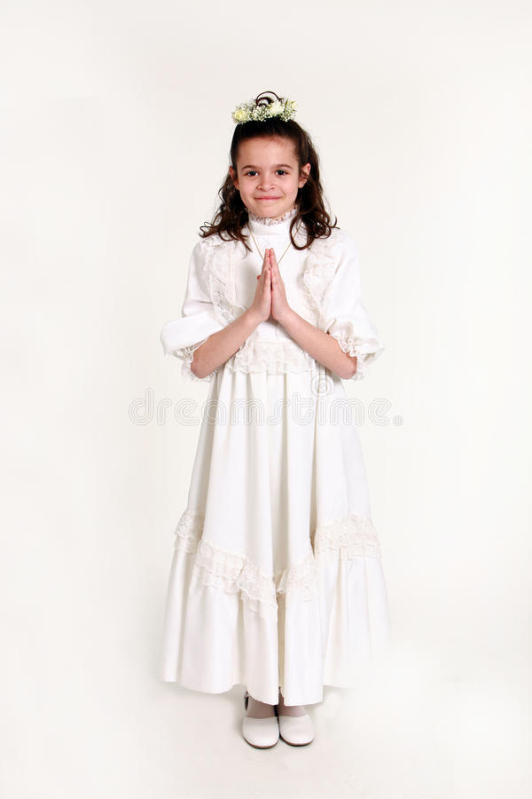 Download First communion 13 stock photo. Image of first, beauty - 9364448