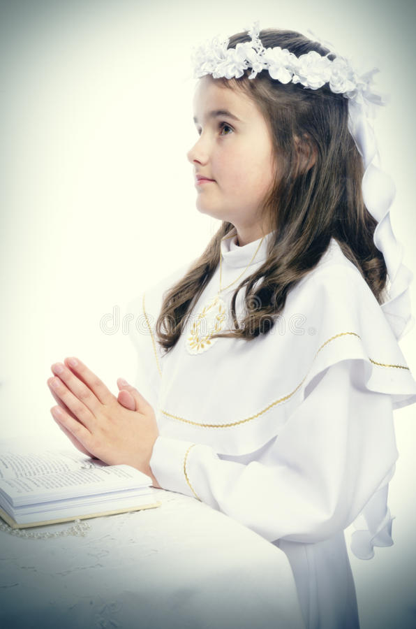 Download First Communion stock photo. Image of gold, knows, church - 25464168