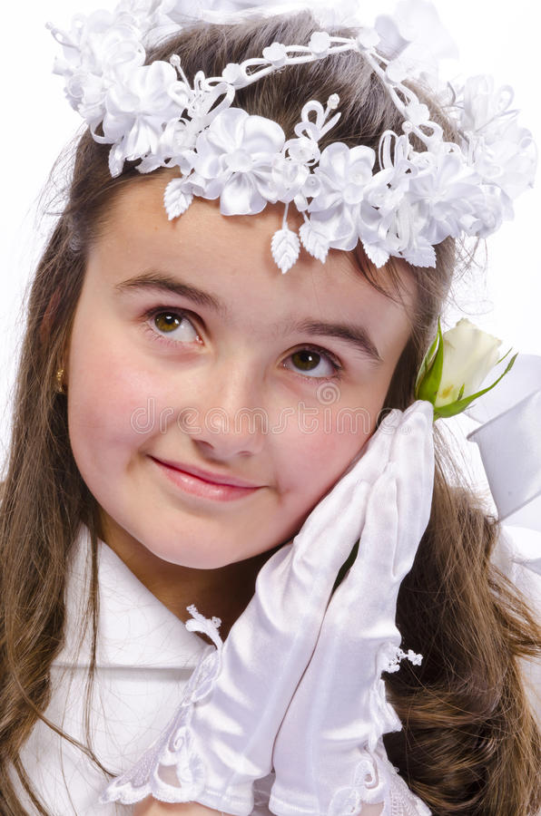Download First Communion stock image. Image of church, foundation - 25562781