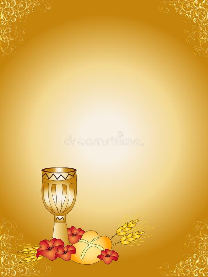 First Communion royalty free illustration