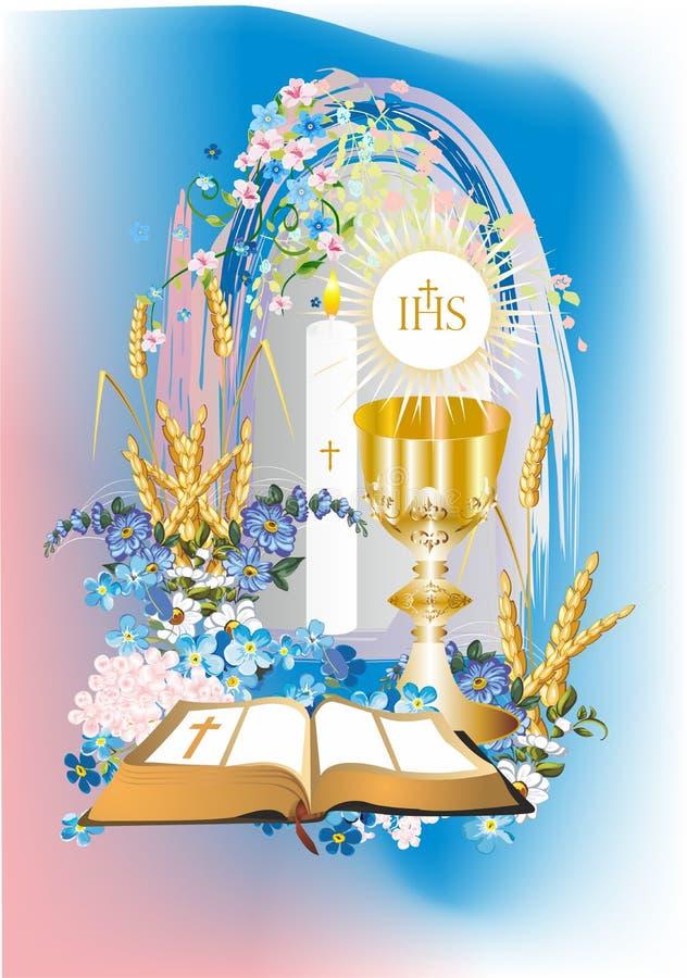 First Communion Stock Illustration Illustration Of Cups 40591501