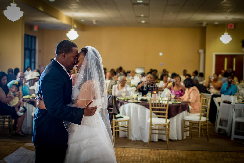 First Dance stock image